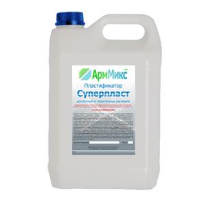 Пластификатор АрмМикс Суперпласт используется для приготовления растворов для полусухой стяжки