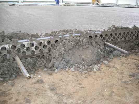 Рельс-формы и маяки для бетонных полов и стяжек