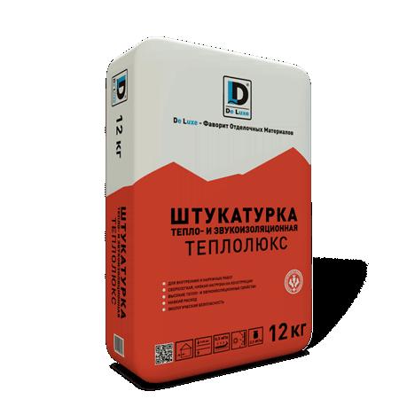 Теплои звукоизоляционная штукатурка Теплолюкс DeLuxe